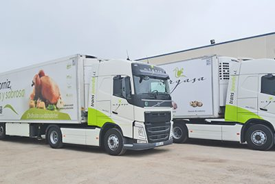 "Expansion of the fleet of Volvo 460 Euro 6 ""Ecological"" trucks"