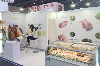 Urgasa at Gulfood 2016, the largest fair in the Middle East