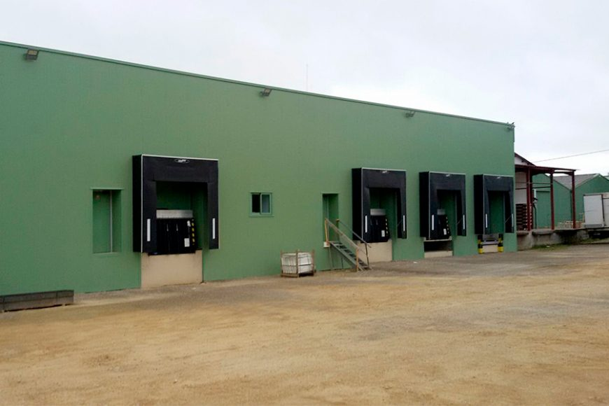 Construction of the new slaughterhouse at Caillor (France) is almost complete