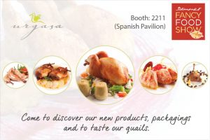 Urgasa Quails at Fancy Food Show June 2016