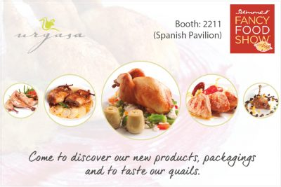 Urgasa at Fancy Food 2016, New York