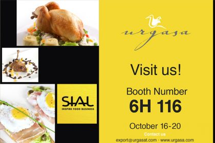 Urgasa at SIAL INSPIRE FOOD BUSINESS, Paris