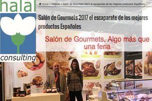 Urgasa certified Halal Consulting in Salon de Gourmets