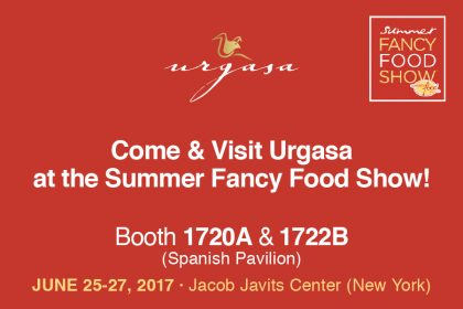 Urgasa again at the Summer Fancy Food Show 2017