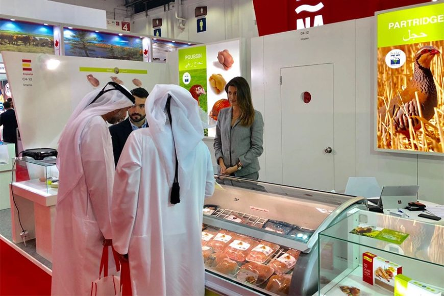 The Free Range Coquelet, presented at Gulfood in Dubai